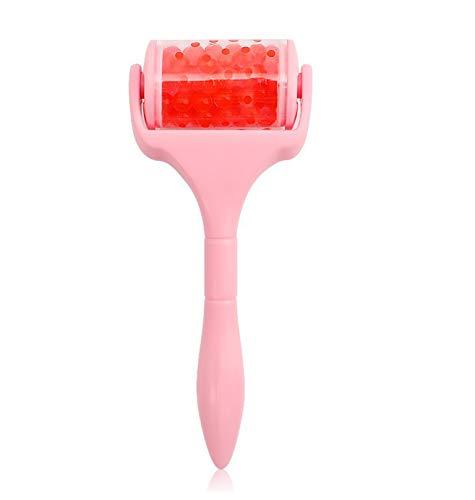 Gezichtsmassageapparaat, beauty-tool voor de huid van de ijsrol en het gezicht om ijs strakker te maken. 0 yellow