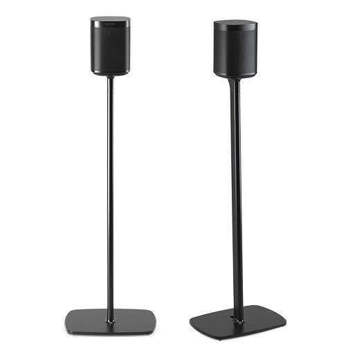 Flexson Floorstand For Sonos One, Sl & Play1 - 2 Pack - Black