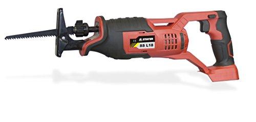 STAYER 1.1576 - Sierra de sable a bateria 18V Li-Ion 3300 rpm sin cargador ni bateria SS L18