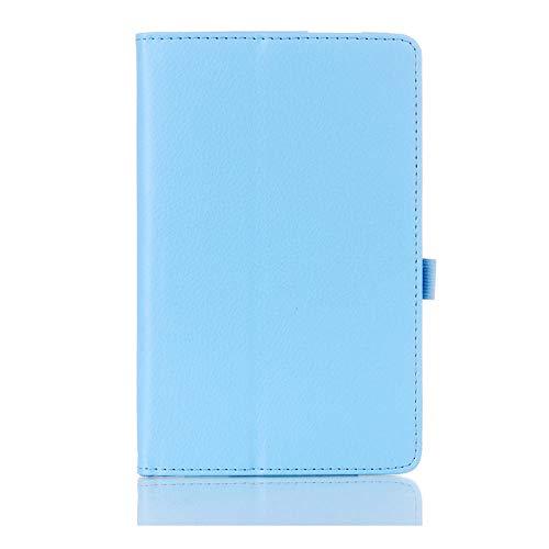 Folio Coque - Funda magnética para Samsung Galaxy Tab 3 7.0 SM-T210 T211 P3200 (poliuretano termoplástico), color azul