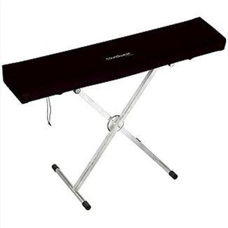 Soundwear Elastische Keyboard Abdeckhaube, 76 Tasten, 102-125 cm, schwarz