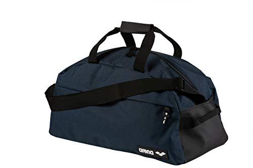 arena Team Duffle 40 Sporttasche für Sport-, Schwimm- und Freizeitaktivitäten, Reisetasche mit Fach für Nasse Kleidung, mit Abnehmbaren Schulterriemen, Große Strandtasche, 40 Liter