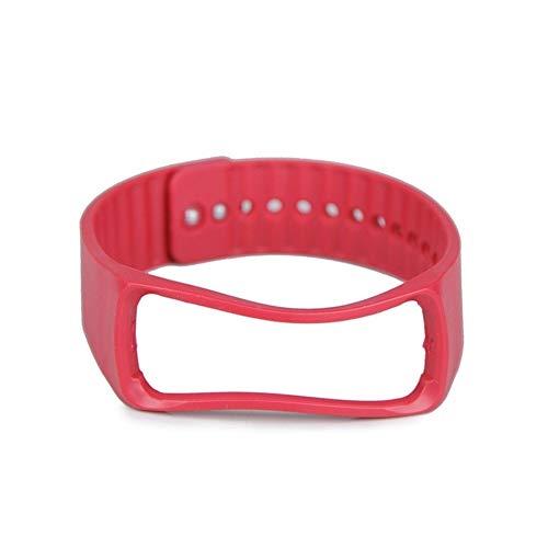 QWERBAM Ersatz-Uhr-Handgelenk-Bügel Bequem 1pc Armband Haltbar for Smart Watch (Color : Red, Size : L/XL)