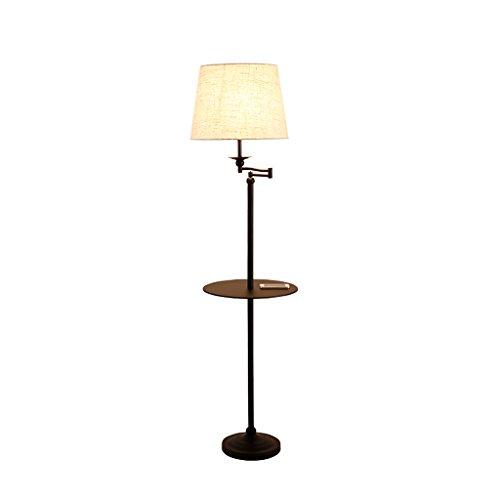 Staande lamp, eenvoudige studie, Nordic salon, verticaal, bewaarplaat, koffie, tafellamp, M20-02-03