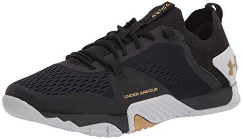 Under Armour Women's TriBase Reign 2 Running Shoe, Black (003)/Black, 8.5