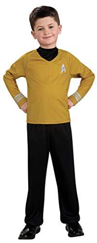 Capatin Kirk Kostüm für Kinder (Größe S /  104)