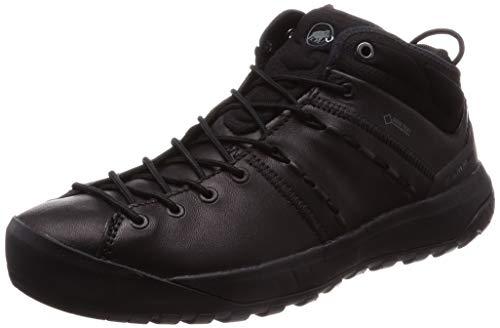 Mammut Women's High Rise Hiking Boots, Black Black Black 0052, 8.5 UK