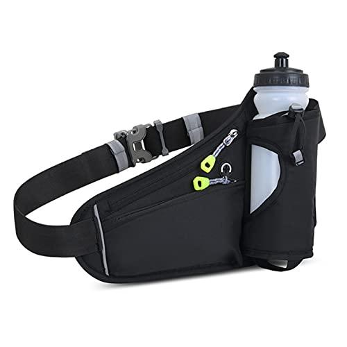 Hidratación Running Belt Impermeable Bum Bag Corredor Paquete de cintura ajustable Deportes de combustible Bolsa de cintura para mujer Hombre Corredores Cualquier tamaño de teléfono Ciclismo para corr