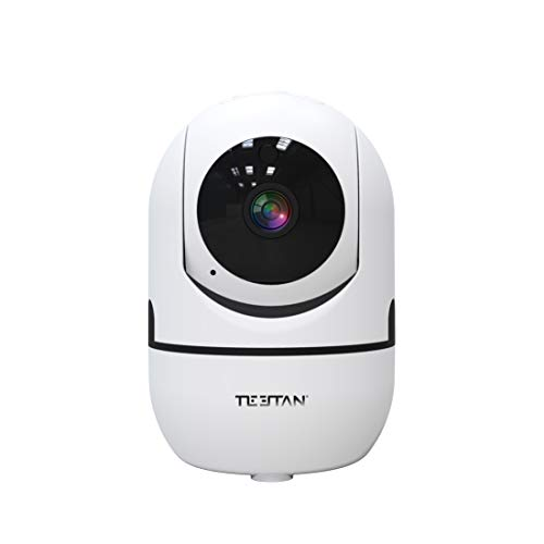 Teetan - Cámara de vigilancia, Color Blanco