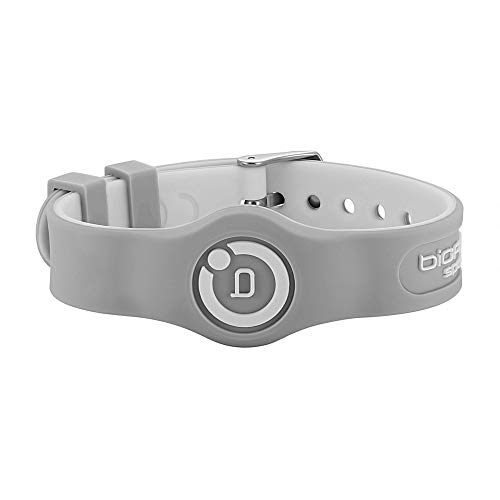 Bioflow Sport Flex Adjustable Magnetic Therapy Wristband - Grey/White