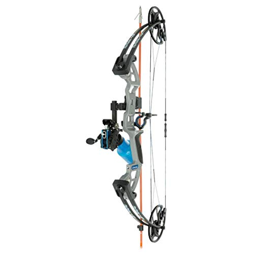 Fin-Finder F-31 Bowfishing RTF Compound (Right-Handed) Bow w/Winch Pro Reel, Current Arrow Rest, Raider Pro Arrow, Riptide Point