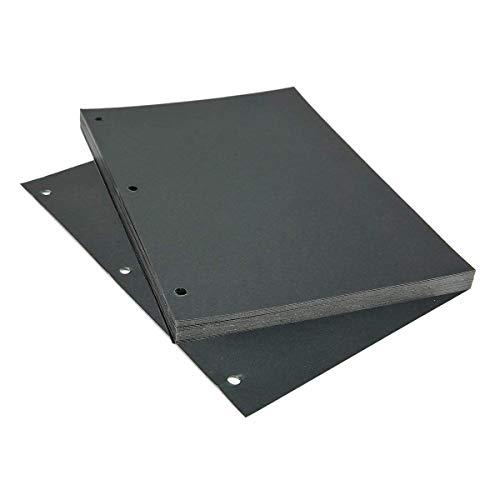 AiYoYo Scrapbooking Schwarzen Papiers 17 x 23.5cm (6.7