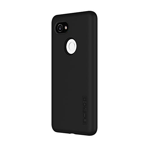 Incipio DualPro Google Pixel 2 XL Case with Shock-Absorbing Inner Core & Protective Outer Shell for Google Pixel 2 XL - Black Black