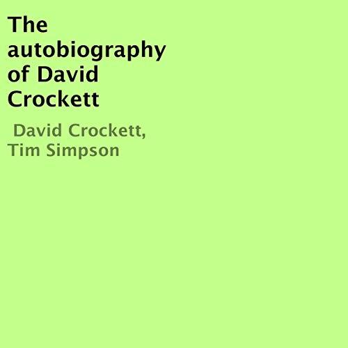 The Autobiography of David Crockett cover art