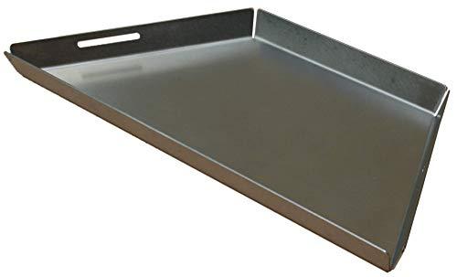 Piastra Griglia/Plancha per barbecue circolare tipo Weber 57 cm, qualità professionale