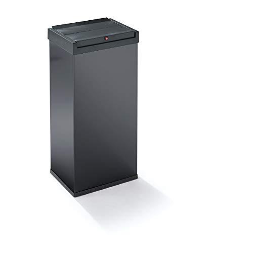 Hailo Big-Box Swing XL Mülleimer (52 Liter, selbstschließender Schwing-Deckel, Müllbeutel-Klemmrahmen) 6460-412