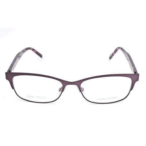 Jimmy Choo Brillengestelle Jc162 Monturas de gafas, Marrón (Braun), 51.0 para Mujer