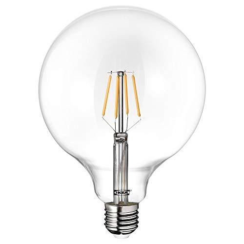 IKEA LUNNOM E27 600 Lumen Large 125mm LED Filament Globe Bul