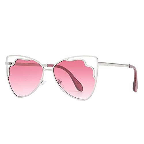 LEERIAN Polarizador Masculino y Femenino UV400 Filtro Anti-Ultravioleta, Gafas de Sol al Aire Libre de Metal de Moda para Conducir/Pesca/Ciclismo/de Compras/Gafas de Golf Deportes,D