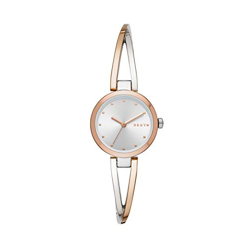 DKNY Crosswalk Quartz Two-Tone Ladies Watch NY2791