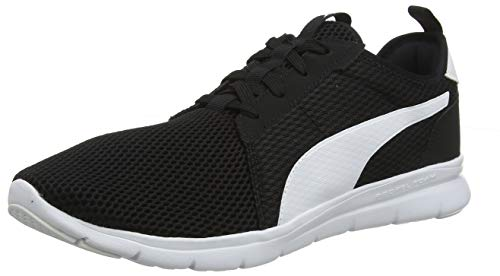PUMA Unisex-Erwachsene Flex Fresh Sneaker - Schwarz (Puma Black-Puma White 01) - 43 EU