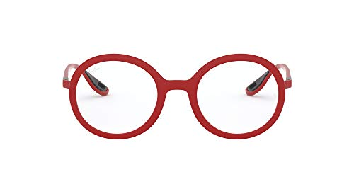Ray-Ban 0rx7180mf628 Gafas, MATTE RED, 47 Unisex