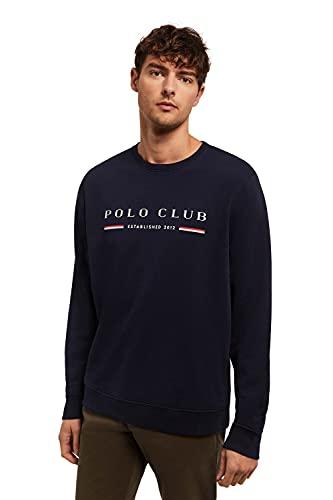 POLO CLUB Sudadera Organic Pattern Azul Marino para Hombre