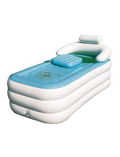 Große aufblasbare Badewanne Folding Kunststoff Badewanne for Erwachsene, Paar, Kind Use (Größe: L 160 * 80 * 64cm)