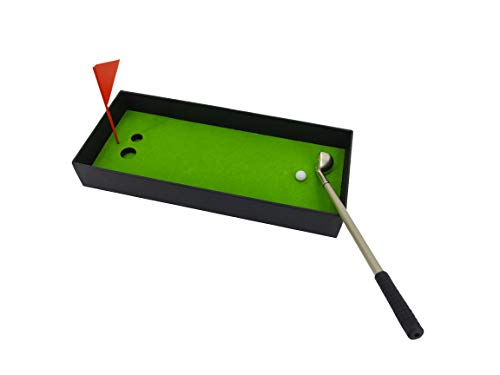 Mini Board Game-Desktop Golf Pen Toy Set-Funny White Elephant Prank Gift, Suitable for Adult Men's Dad Husband-Unique Novelty Cute Cool Office Desktop Sports Gadgets Decoration Accessories Socks Ideas