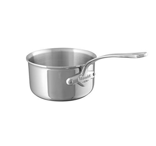 Mauviel1830 - M'Cook 521014 - Casserole inox - 14 cm
