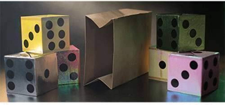 los últimos modelos SOLOMAGIA Appearing Dice from Empty Bag by Tora Tora Tora Magic - Stage Magic - Trucos Magia y la Magia  el estilo clásico