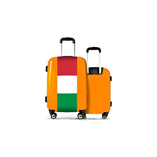 Valise CALIBAG (Taille M) Hongrie Orange