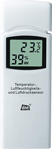 dnt WeatherScreen Pro - Estación meteorológica WiFi con control de temperatura...