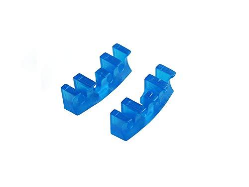 2Badminton Schläger Laden Spreader Adapter Befestigung Besaitungsmaschine Tool nützlich blau/weiß