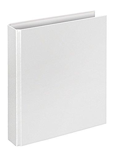 Veloflex 4156090 Ringordner Basic, Ringbuch, Ordner, DIN A5, 206 x 230 x 42, 4-Ring-Mechanik, weiß