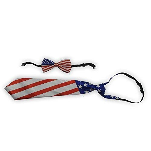 Lively Moments Fliege / Schleife & Krawatte / Binder für Sie & Ihn USA / Amerika / Fanartikel für Fußball
