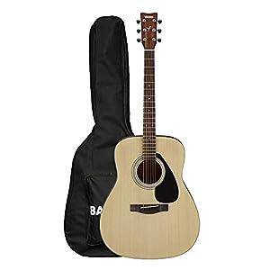 Yamaha F280 Acoustic Guitar, Natural Gig Bag 4