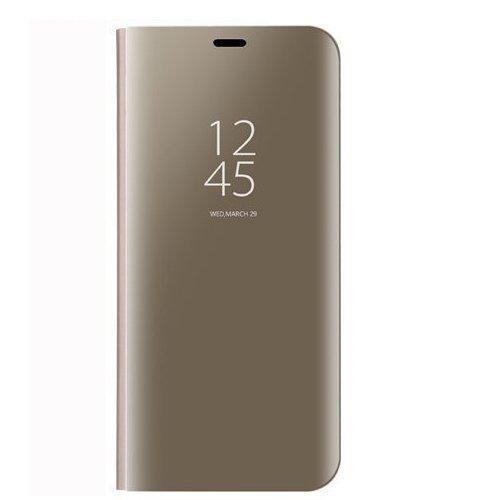 BCIT Samsung Galaxy Note 8 Funda - Modelo Inteligente Fecha/Hora Ver Espejo Brillante tirón del Caso Duro con para el Samsung Galaxy Note 8 - Oro