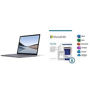 Microsoft Surface Laptop 3 PC UltraPortable (Écran 13 Pouces, Intel Core i5, 8Go de R + Microsoft 365 Family   Téléchargement (B08G21RV2M)   Amazon price tracker / tracking, Amazon price history charts, Amazon price watches, Amazon price drop alerts