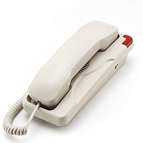 MHTCJ Telefon, Western-Stil Retro Festnetztelefon mit Digitalspeicher, Wand-, Lärm Funktionsminderung for Heim und Büro