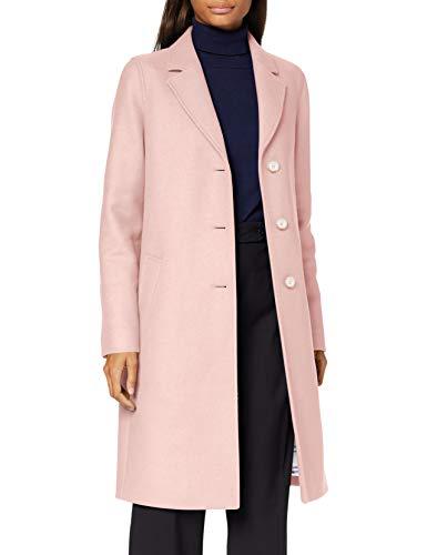 BOSS Damen C_coluise Wollmischungs Mantel, Light/Pastel Pink687, 36 EU
