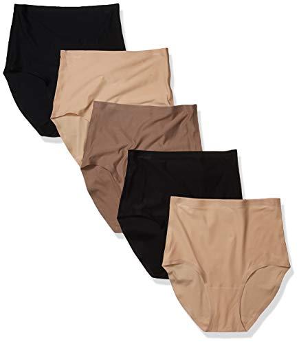 Chantelle Damen SoftStretch Taillenslip, Mehrfarbig (5er-Pack), One Size