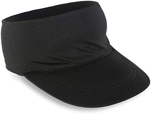 Gone For a Run Runners Lightweight Comfort Performance Visor Black One Size Fits Most product image