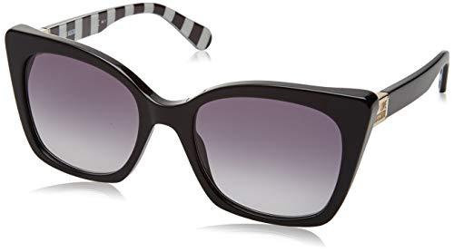 Love Moschino Damen MOL000/S Sonnenbrille, Schwarz (Black), 53
