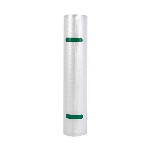 Bolsas de Vacio Rollos Bolsas Rollos para Envasadora Sellador de Vacío, Tres Tamaños Disponibles 28 x 500 cm /20 x 500cm / 15 x 500cm, Accesorios para Envasadoras al Vacío (28 * 500cm)