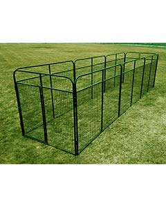 Cove Products 8' X 24' Basic Standard Dog Kennel (Powder-Coated)