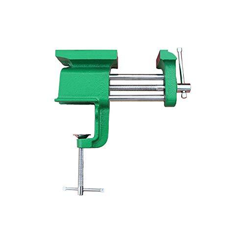 De aluminio miniatura hierro fundido pinza multiuso en el vicio herramienta de mano de banco de tabla en la tabla