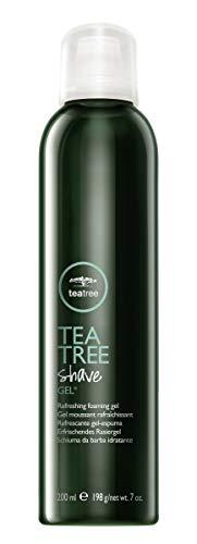 Paul Mitchell Tea Tree Shave Gel - kühlendes Rasier-Gel für eine glatte Rasur, Rasier-Schaum spendet Feuchtigkeit mit natürlichen Inhaltsstoffen, 200 ml