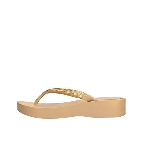 Ipanema - Sandalias de Vestir de Caucho para Mujer Beige Beige *