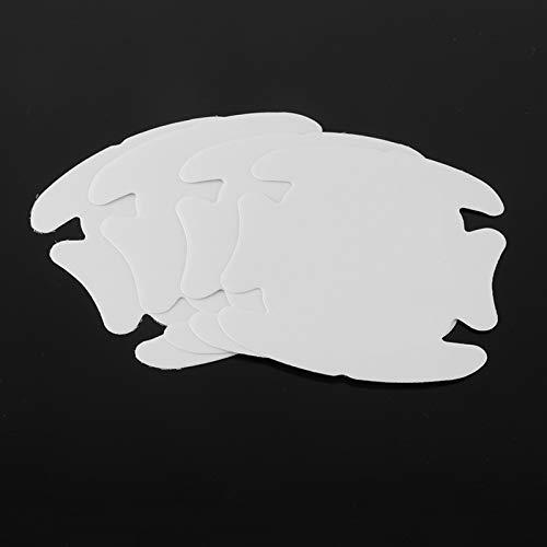 Jinchao- Handschuhe für Autotürgriffe, 4pcs Außen Auto Transparent Aufkleber-Schutz-Film Kratzer beständig Cover, Autohandgriff Schutzfolie, Schutzvorrichtung